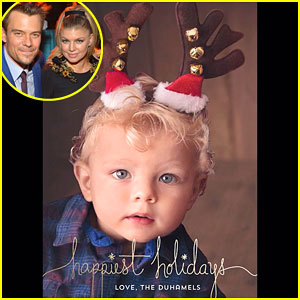Fergie Shares the Cutest Christmas Photo of Her Son Axl!