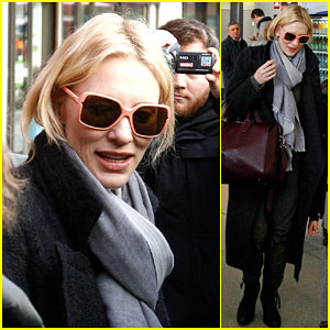 Cate Blanchett Makes Her Way to Berlin for a Special Event