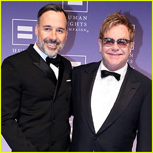 Elton John Marries David Furnish in Lond