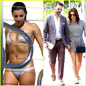 Eva Longoria Takes Her Bikini & Her Boyfriend to Miami!