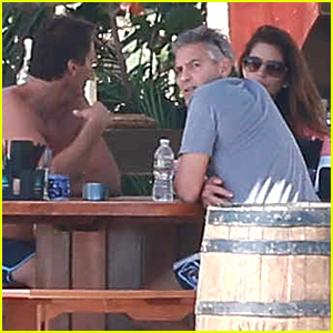 George & Amal Clooney Vacation with Cindy Crawford & Rande Gerber in Cabo!