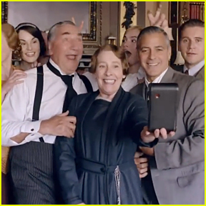 Watch George Clooney Use His Classic Charm in 'Downton Abbey'