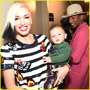Gwen Stefani Shows Off Adorable Son Apollo at Z100 Jingle Ball 2014