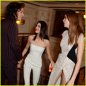 Harry Styles & Kendall Jenner Flirt at Fashion Awards - Report