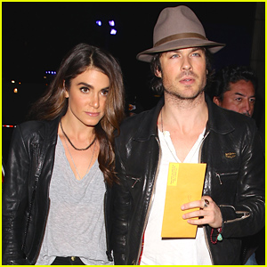Ian Somerhalder & Nikki Reed Hold Hands For Their Date