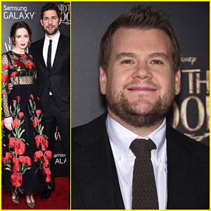 Emily Blunt & John Krasinski Are a Picture Perfect Couple at the 'Into the Woods' Premiere