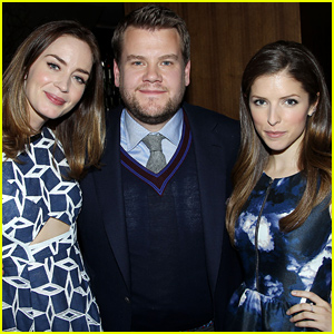 Emily Blunt & Anna Kendrick Celebrate 'Into the Woods' at a Special Cast Luncheon!