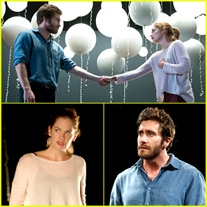 Jake Gyllenhaal & Ruth Wilson Hold Hands in First 'Constellations' Photos