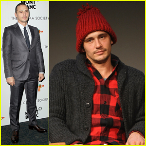 James Franco Takes Time to Promote Biopic 'The Color Of Time' All Around NYC!
