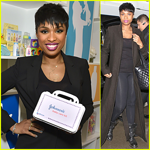 Jennifer Hudson Gives Back in a Big Way at Johnson's Giving Tuesday Event