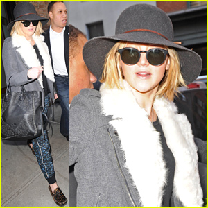 Jennifer Lawrence Steps out in NYC Af
