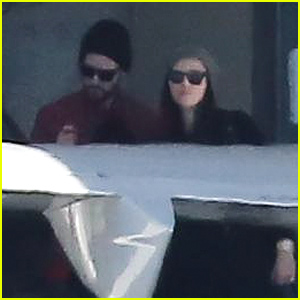 Jessica Biel & Justin Timberlake Make a Rare Public Appearance Together at the Airpor