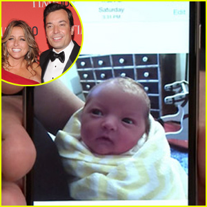Jimmy Fallon Debuts Newborn Baby Daughter Frances - See Her First Photos!
