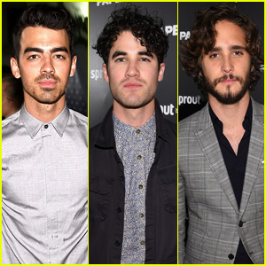 Joe Jonas & Darren Criss Are a Musical Duo at Paper Magazine's Issue Release
