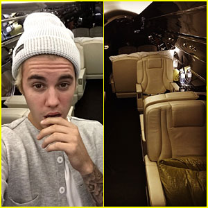 Justin Bieber Got a Brand New Private Jet f
