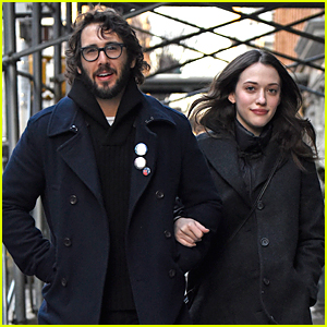 Kat Dennings & Josh Groban Look Ready to Ring In 2015 Together
