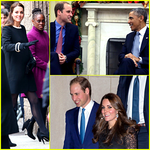 Kate Middleton Meets New York City Kids, Prince William Visits Obama in D.C.