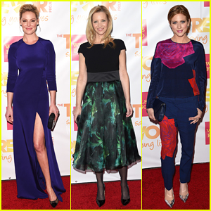 Katherine Heigl, Lisa Kudrow & Brittany Snow Brighten Up the Red Carpet at TrevorLIVE LA!