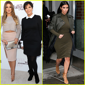 Khloe Kardashian & Kris Jenner Make it a Mother-Daughter Day at THR's Women in Entertainment Breakfast