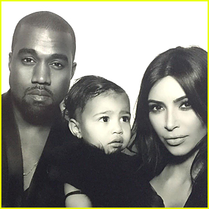 Kim Kardashian's Daughter North West Takes First Photo Booth Pics at Family Christmas Eve Party