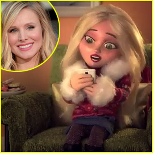 Kristen Bell Gets the Animated Treatment for 'Text Me Merry Christmas' Music Video - Watch Now!