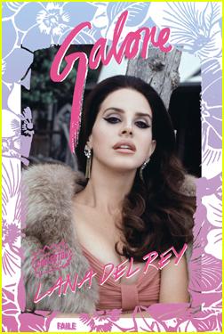 Lana Del Rey's Beauty Is Captured By Boyfriend Francesco Carrozzini on 'Galore' Cover!