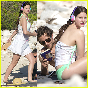 Lana Del Rey & Shirtless Francesco Carrozzini Continue Paradise Vacation in St. Barts