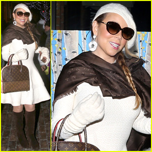 Mariah Carey Indulges in Louis Vuitton Shopping Spree in Aspen