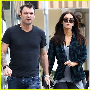 Megan Fox & Brian Austin Green Butter Up for a Sweet Lunch