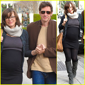 Pregnant Milla Jovovich Looks So In Love with Husband Paul W.S. Anderson