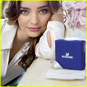 Miranda Kerr Is Stunning in New Swarovski Ad Campaign!