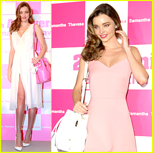 Miranda Kerr Continues to Celebrate Samantha Thavasa Before the Holidays