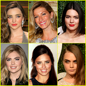 Just Jared's 10 Most Popular Models 2014