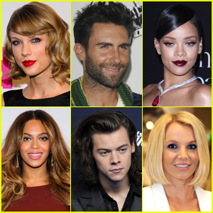 Just Jared's Most Popular Music Acts 2014