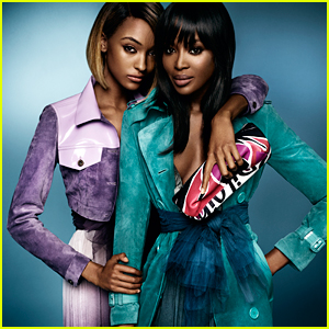 Naomi Campbell & Jourdan Dunn Look Super Fierce for Burberry's New Campaign