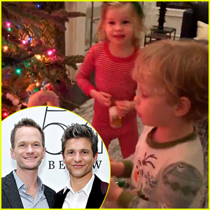 Neil Patrick Harris' Kids Sing 'Jingle Bells' & It's So, So Cute!