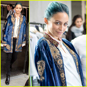 Nicole Richie Borrowed Her Six-Year-Old Daughter's Coat