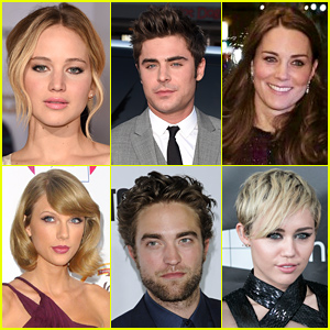 Just Jared's 50 Most Popular Ce