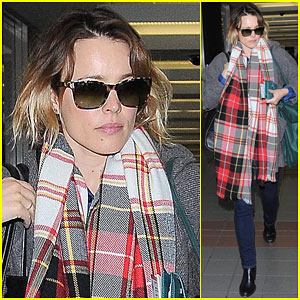 Rachel McAdams Shows Off Her New Look Before Filming 'True Detective'