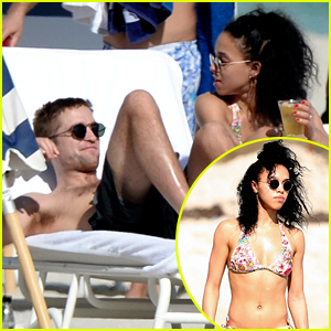 Robert Pattinson Goes Shirtless with Bikini-Clad FKA twigs!
