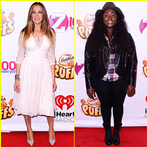 Sarah Jessica Parker & Danielle Brooks Get All Dressed Up at Jingle Ball