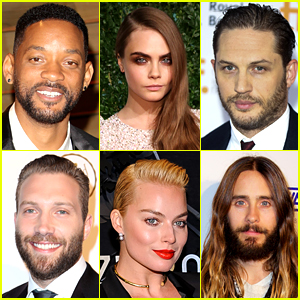 'Suicide Squad' Cast Officially Announced - Will Smith, Tom Hardy, Cara Delevingne & More!