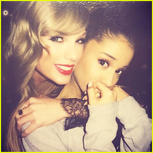 Taylor Swift & Ariana Grande Share Cutest Pics Ever Backstage at Victoria's Secret Fashion Show
