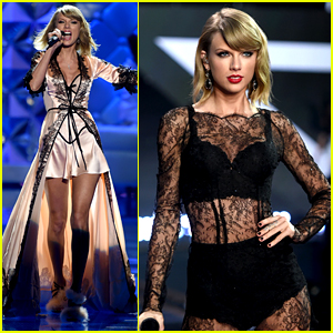 2014 Victoria's Secret Fashion Show Style Taylor Swift Performs Style