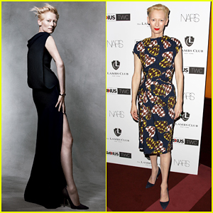 Tilda Swinton Named GQ's Woman of the Year!