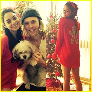 Vanessa Hudgens Spends Christmas with Boyfriend Austin Butler