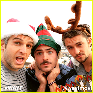 Zac Efron Channels Elf to Send Lots of Holiday Love - Watch Now!