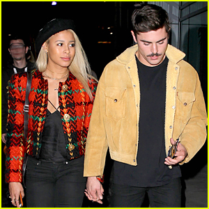 Zac Efron & Sami Miro Are Inseparable Couple at Lake