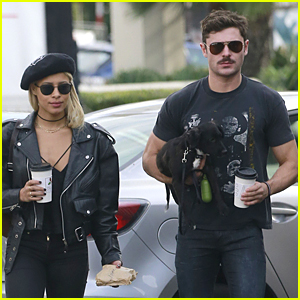 Zac Efron & Sami Miro's Puppy Love Melts Our Hea