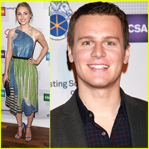 Jonathan Groff & AnnaSophia Robb Celebrate Artios Awards In NYC